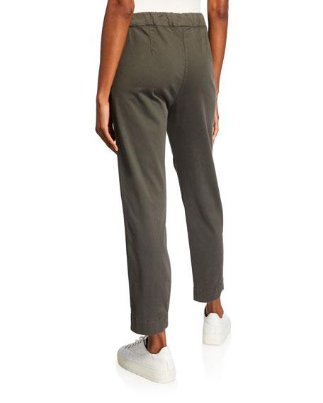 Max Mara Leisure Drawstring Front Pocket Ankle Pants