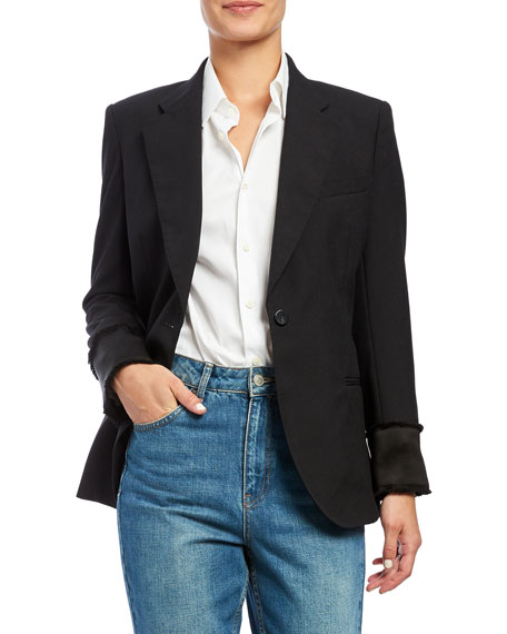 Theory CINCHED WOOL BLAZER