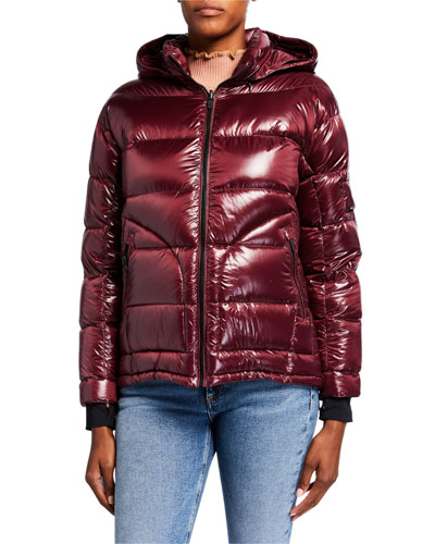 Boxy Down Jacket  Red