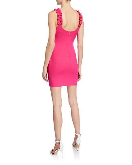 Likely Elana Ruffle Bodycon Dress