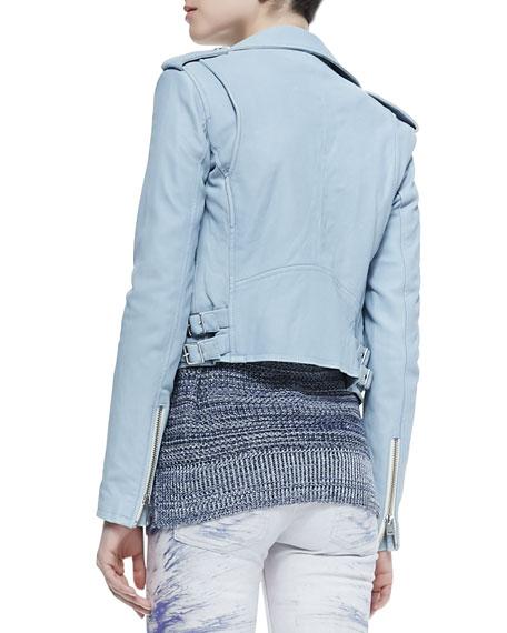 Iro Ashville Zip-Front Moto Jacket