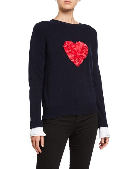 Catherine Osti Amour Heart Sweater