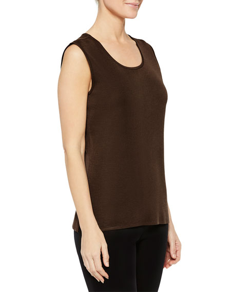Misook Plus Size Scoop-Neck Tank