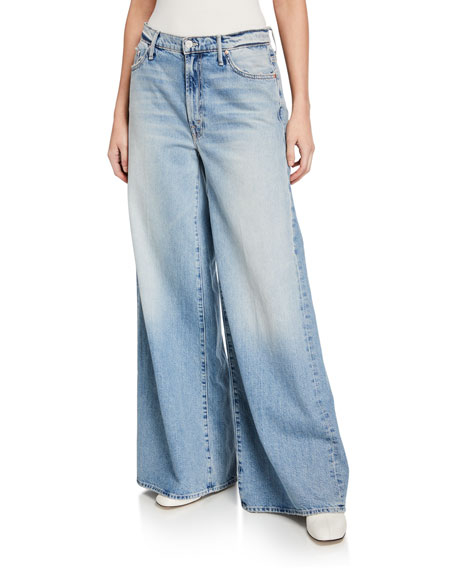 MOTHER The Undercover Wide-Leg Jeans