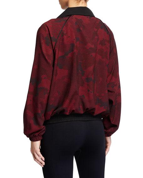 Terez Printed Wind-Resistant Jacket