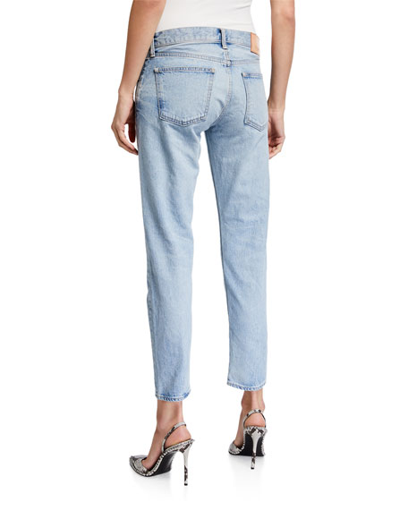 MOUSSY VINTAGE Camilla Tapered Crop Jeans