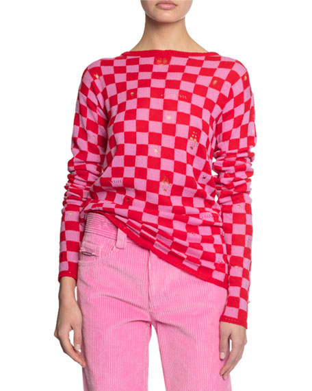 The Marc Jacobs The Checkered Sweater