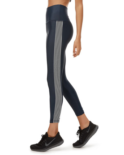 Paris Stripe 7/8 Leggings