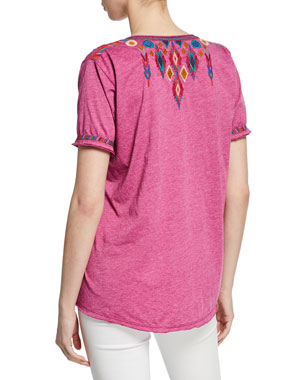 2f6a07cab77a T-Shirts & Graphic Tees for Women at Neiman Marcus