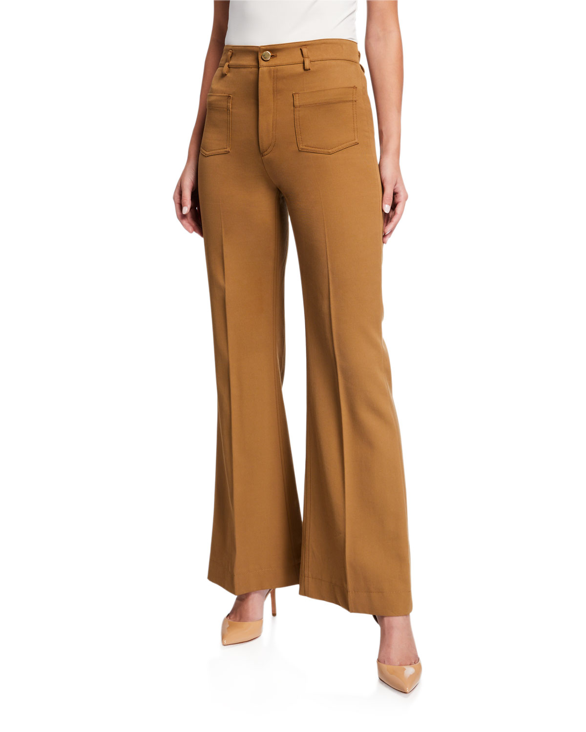 REDValentino Boot-Cut Pants