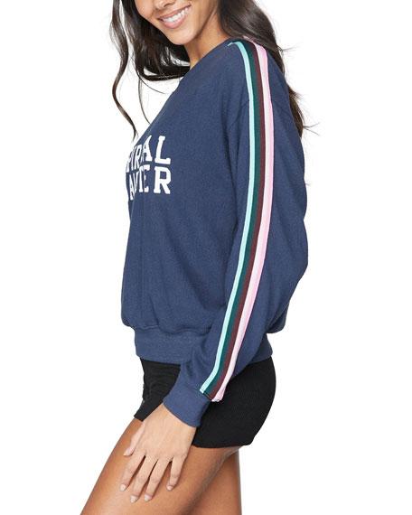 Spiritual Gangster Malibu Logo Crewneck Sweatshirt