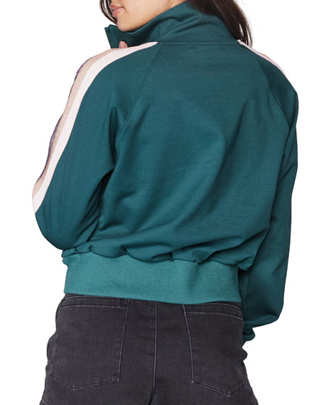 Spiritual Gangster Zip-Front Classic Track Jacket