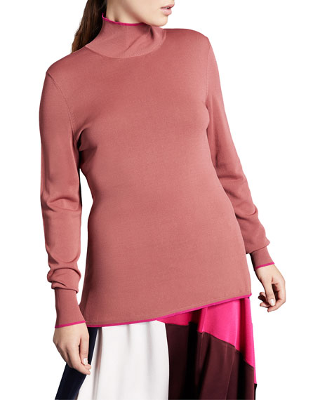 Marina Rinaldi Plus Size Compact Turtleneck Sweater