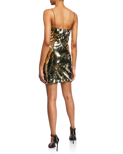 Reese Sequined Cocktail Dress