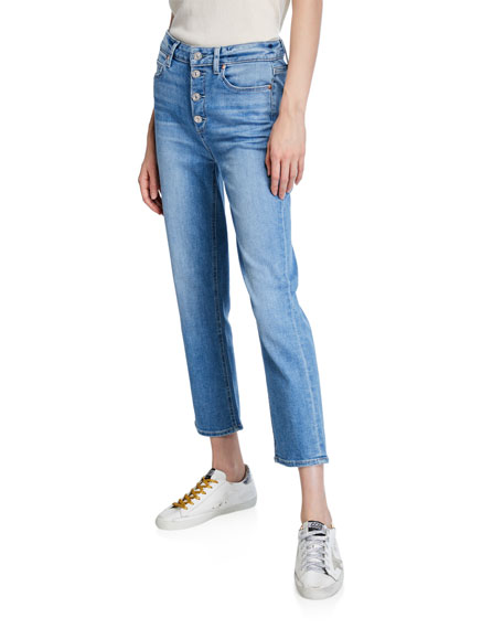 PAIGE Hoxton Ultra-Skinny Cropped Jeans