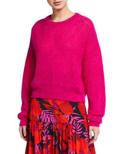 Melinda Mohair Crewneck Sweater