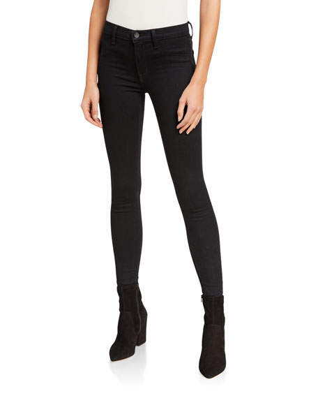 Image 1 of 3: 925 Mid-Rise Super Skinny Jeggings