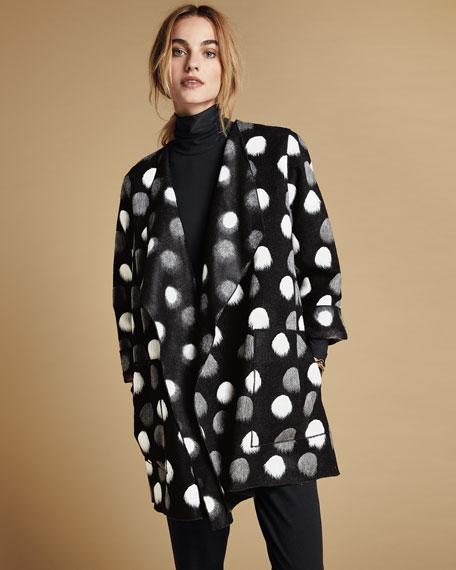 Caroline Rose Plus Size  On The Dot Saturday Topper Jacket