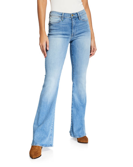 Image 1 of 3: FRAME Le High Flare Jeans
