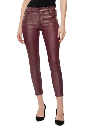 J Brand 835 Mid-Rise Capri Jeans