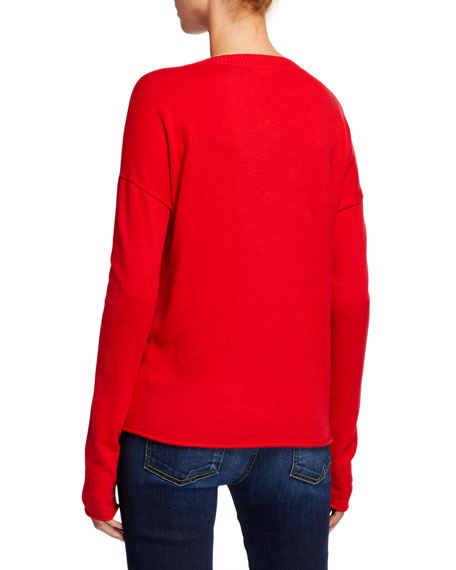 Lisa Todd Plus Size Fleece Navidad Holiday Sweater