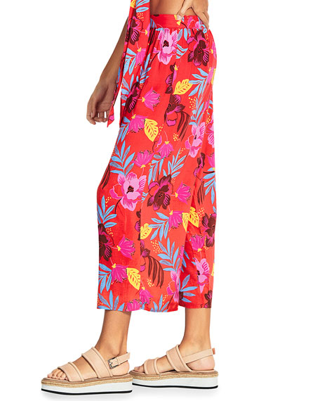 Seafolly On Vacation Printed Coverup Pants