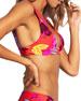 Seafolly Banded Floral-Print Triangle Bikini Top