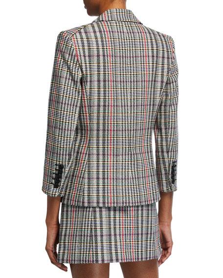 Veronica Beard Empire Dickey Plaid Jacket