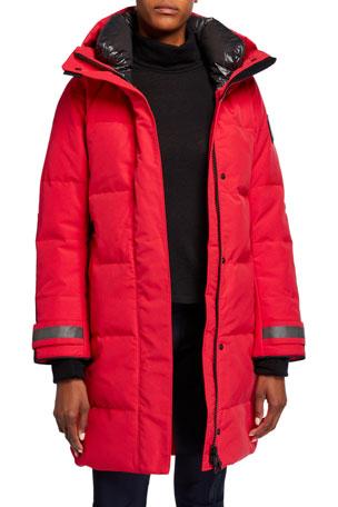 FJ/ÄLLR/ÄVEN Canada Wool Padded Jacket Men red Size M 2020 winter jacket