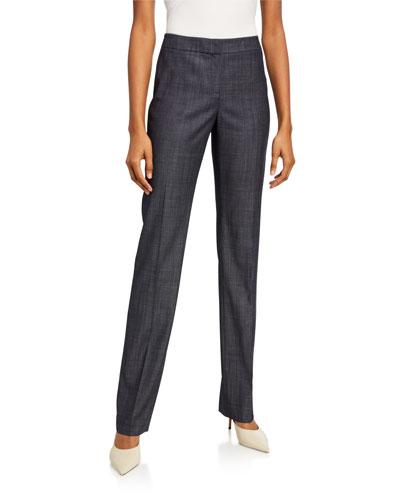 Barrow Fusion Suiting Straight-Leg Pants