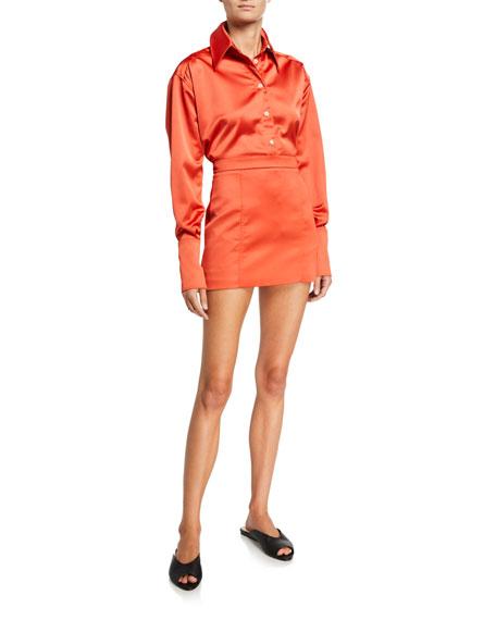 Gauge 81 Tuscany Satin Mini Skirt