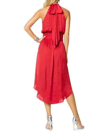 Ramy Brook Bella Halter Midi Dress