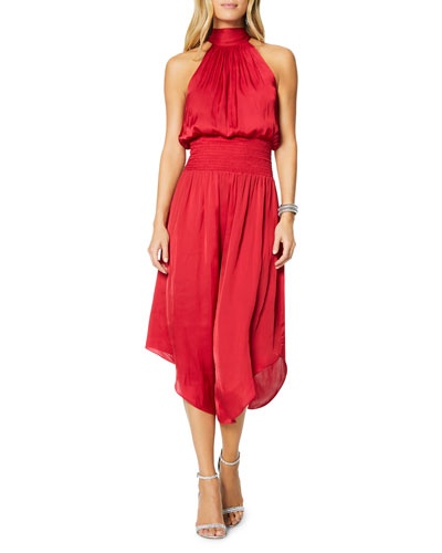 Bella Halter Midi Dress