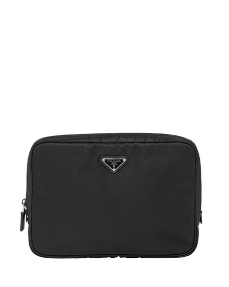 Small Vela Computer Case, Black (Nero)