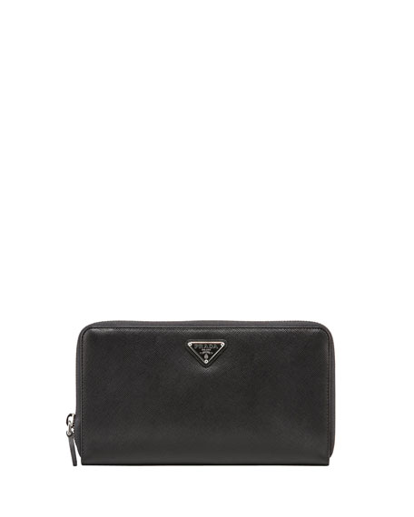 Saffiano Large Document Wallet
