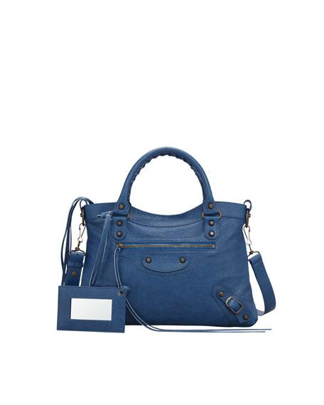 Classic Town Bag, Blue Cobalt
