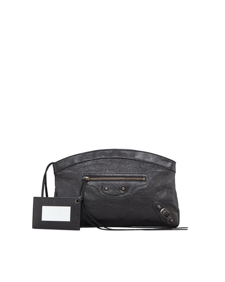 Classic Premier Clutch Bag, Black