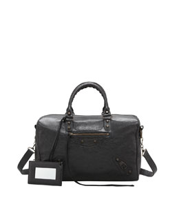 Balenciaga Classic Polly Bag, Black