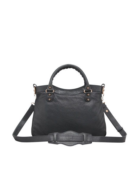 Giant 12 Rose Golden Town Bag, Anthracite