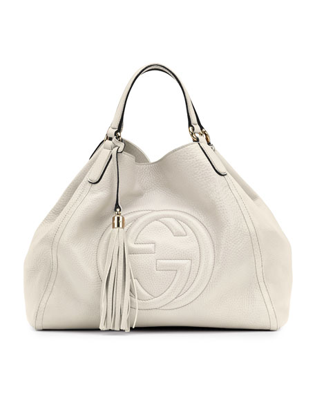 Soho Shoulder Bag, Off White