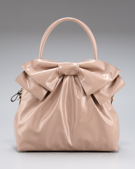 Lacca Double-Handle Bow Bag