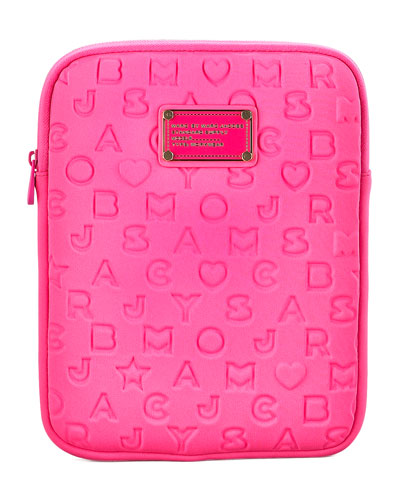 "MARC by Marc Jacobs Stardust Logo Neoprene 13"" iPad Case"