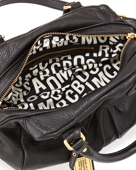 MARC by Marc Jacobs Classic Q Baby Groovee Satchel, Black