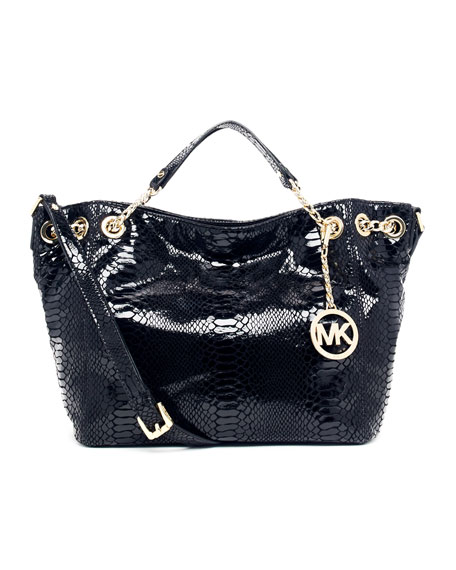 92a84111cbee Buy michael kors jet set chain shoulder bag black   OFF73% Discounted