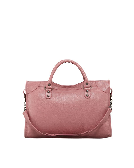 Classic City Bag, Rose Bruyere