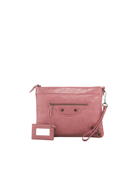 Classic Handle Bag, Rose Bruyere