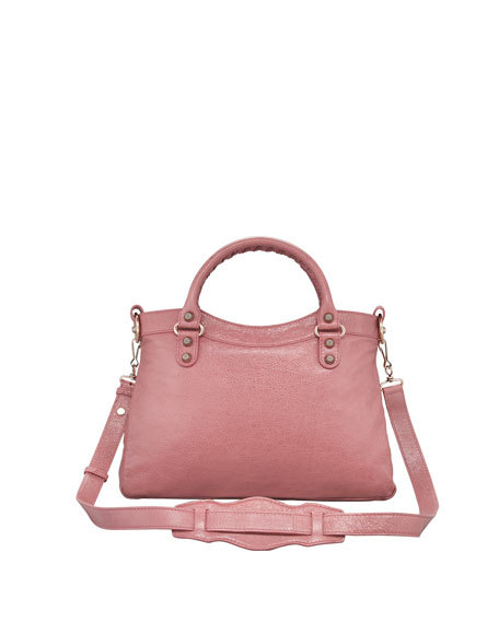 Giant 12 Rose Golden Town Bag, Rose Bruyere