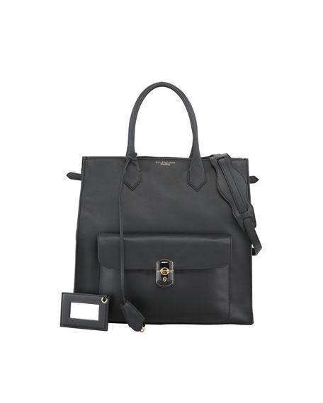 Padlock All Time Tote Bag, Black
