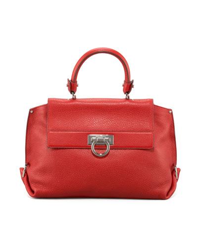 Sofia Satchel Bag, Medium