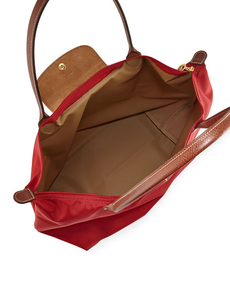 Le Pliage Shoulder Tote Bag, Large